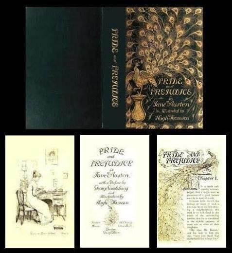 Pride and Prejudice Dollhouse Books   Mary's Dollhouse Miniatures; pride nine bucks