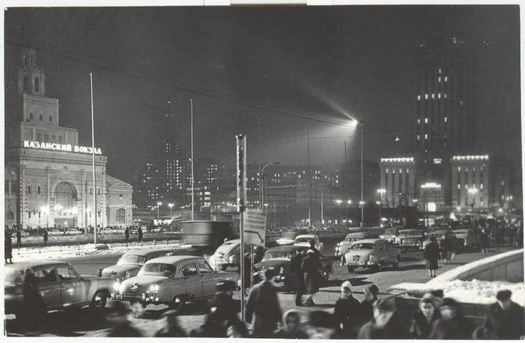 Москва. Комсомольская площадь, 1950-е 1950-01-01 - 1959-12-31, г. Москва