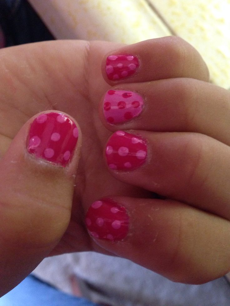 25+ Best Ideas About Little Girl Nails On Pinterest