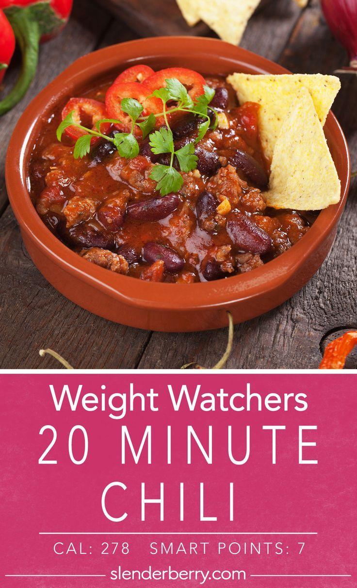 20 Minute Chili Slenderberry Recipe Beef Chili Recipe Chili Ground Beef Recipes