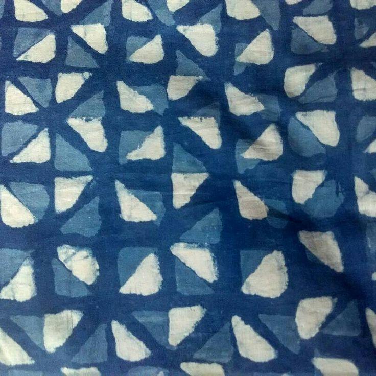 Indigo handblock #handblock fabric # cotton #soft fabric #summer handblock #designer fabric #blue and white color #cotton handblock fabric #Indigo color cotton
