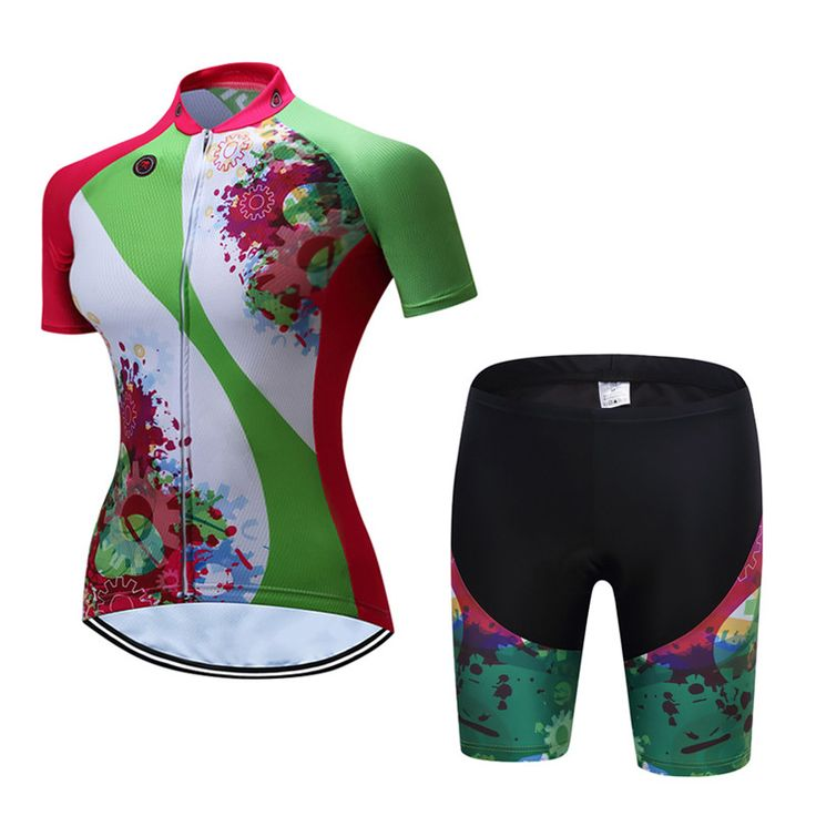 Teleyi Ropa Ciclismo Women Cycling Jersey Set Breathable Cycling Wear Bicycle Clothes Quick Dry MTB Bike Jersey Cycling Clothing #Affiliate