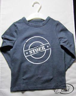 Me and My Crazy Ideass: Flexfolie op shirtjes - Heattransfer on t-shirts