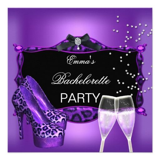 135 best images about Invitations – Purple Party Invitations
