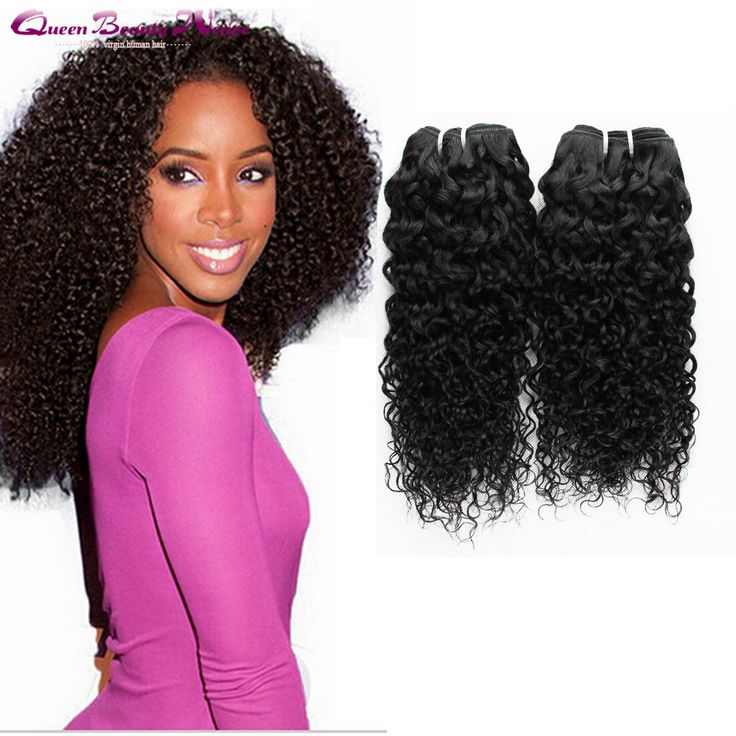 6A Wet And Wavy Weave Kinky Curly 4pcs 100 Human Hair Weave Brands ...