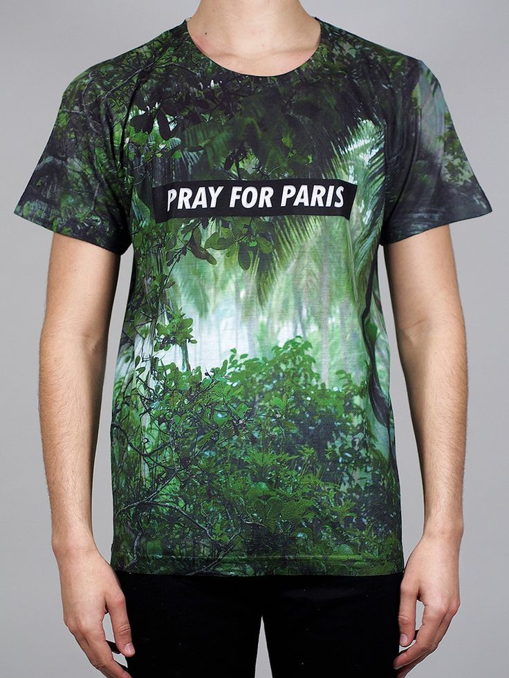 Image of Pray for PARIS 'Rainforest' t-shirt (March 18th)