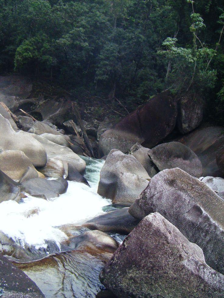 The Babinda Boulders, Cairns, Australia
