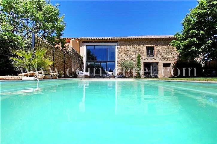 Mas de vacances avec piscine - Sainte Cécile les Vignes - Vaucluse | Coins Secrets