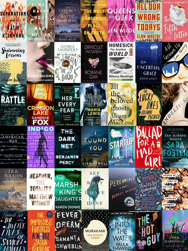 Book cover design in 2017 looks brilliant! These are just some of the books that I can't wait to read.