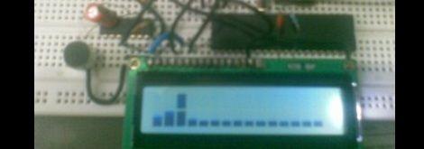 audio spectrum analyzer on a microcontroller