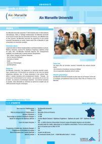Aix Marseille Université - Marseille et Aix-en-Provence > CampusFrance