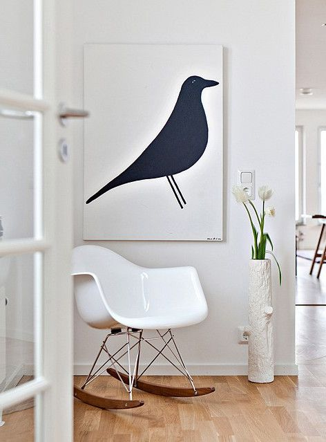 25 best ideas about eames rocking chair on pinterest. Black Bedroom Furniture Sets. Home Design Ideas