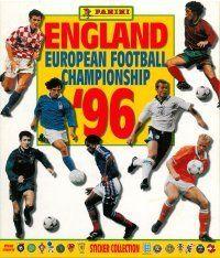 Panini Euro 96 England Album Cover