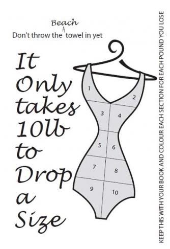 Its only 10 lb drop a dress size feel like million How to lose weight on slimming world