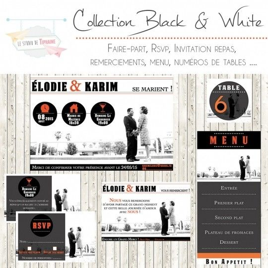 11 best faire part mariage wedding invitation images on pinterest bridal invitations. Black Bedroom Furniture Sets. Home Design Ideas