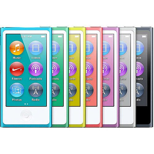 Apple iPod Nano 7th Generation 16GB (Assorted Colors) love my pink one!