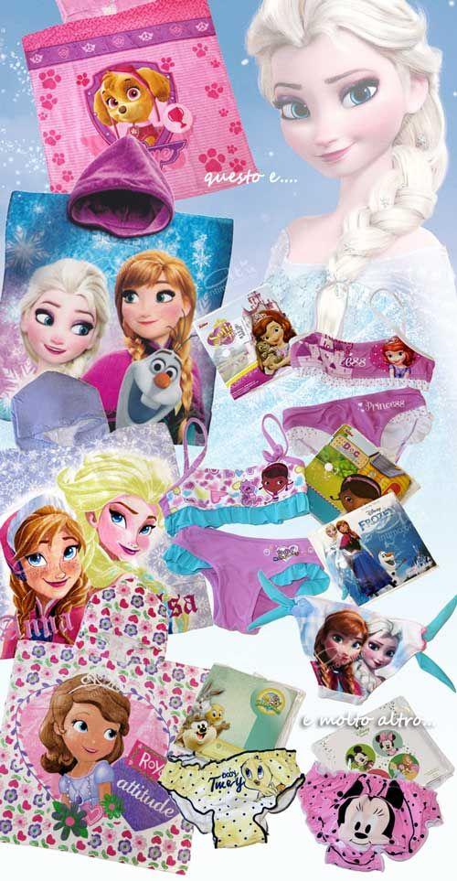 Costumi da bagno bambina! E siamo giunti a presentarvi anche i nuovi arrivi della vetrina Costumi mare! Per le nostre bambine tantissimi bellissimi costumi di qualità con Frozen, Dottoressa Peluche, Titti, Minnie e Principessa Sofia! In più i comodissimi ponchi da spiaggia dai 3 ai 7 anni di Frozen, Skye di Paw Patrol e Principessa Sofia! #costumi #dabagno #bambina http://www.atyintimoonline.it/167-costumi-da-bagno-bimbo-e-bimba
