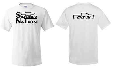 Silverado Nation Tee, Chevy Truck, Bow-tie, Truck Accessories, Chevy Clothing