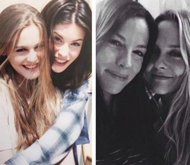 Musas de videoclipe de 1994, Liv Tyler e Alicia Silverstone se reencontram