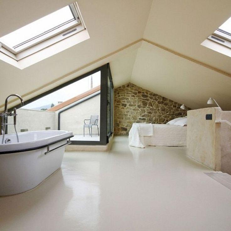 100 unglaubliche Loft Schlafzimmer Interior Ideas