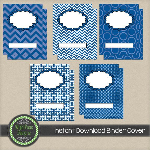 The 14 best Printable Binder Covers images on Pinterest Printable