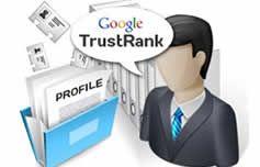 Trustrank, seo'da ezberleri bozan, Google'ın ticari amaçlarla seo çalışması yapan kişiler için geliştirdiği bir algoritmadır. Spam seo teknikleri uygulayan sözde seocular, arama motorlarını yanıltmaya çalışmakta ve arama sonuçlarını etkilemektedir. Bu nedenle doğal yollar ile çalışma yapan seo danışmanlarının hakkı yenmekteydi.