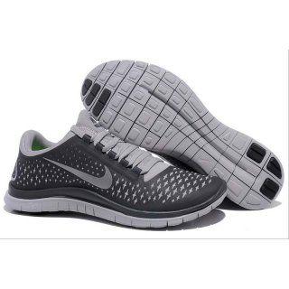 Billig tilbud Menn Nike Free 3.0 V4 Svart Grå