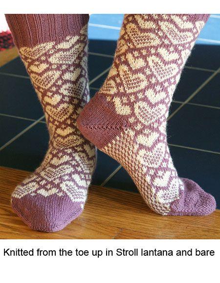 Sweet Socks - Knitting Patterns and Crochet Patterns from KnitPicks.com