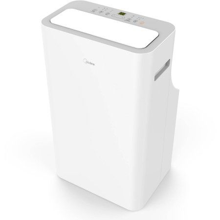 Midea 12,000BTU Super Quiet Portable Air Conditioner, White