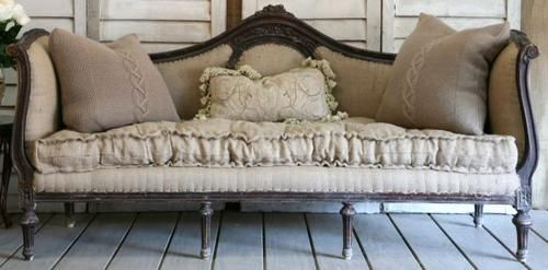 French carved with great cushion   Zsa Bellagio