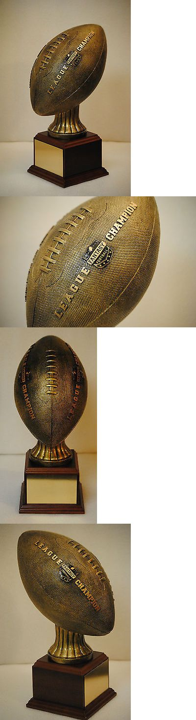 Other Football 2024: Life Size Football Fantasy Football Trophy - Engraved - 100% + Satisfaction -> BUY IT NOW ONLY: $95 on eBay!