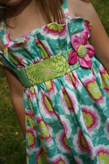darling dress tutorial actually Simplicity pattern 2265