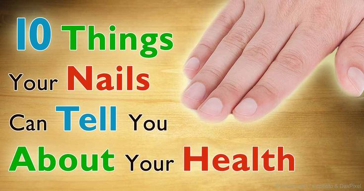 Vertical ridges or white spots on your nails are usually harmless, but black streaks in your nails may be due to melanoma skin cancer. http://articles.mercola.com/sites/articles/archive/2015/12/07/10-nail-symptoms.aspx