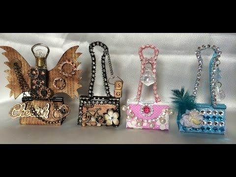 Altered Binder Clips - Project Share - YouTube