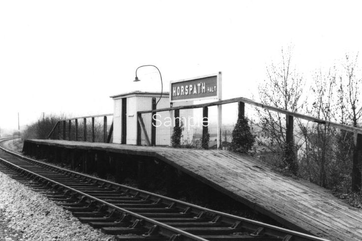 HORSPATH HALT,OXFORDSHIRE. c1955   eBay
