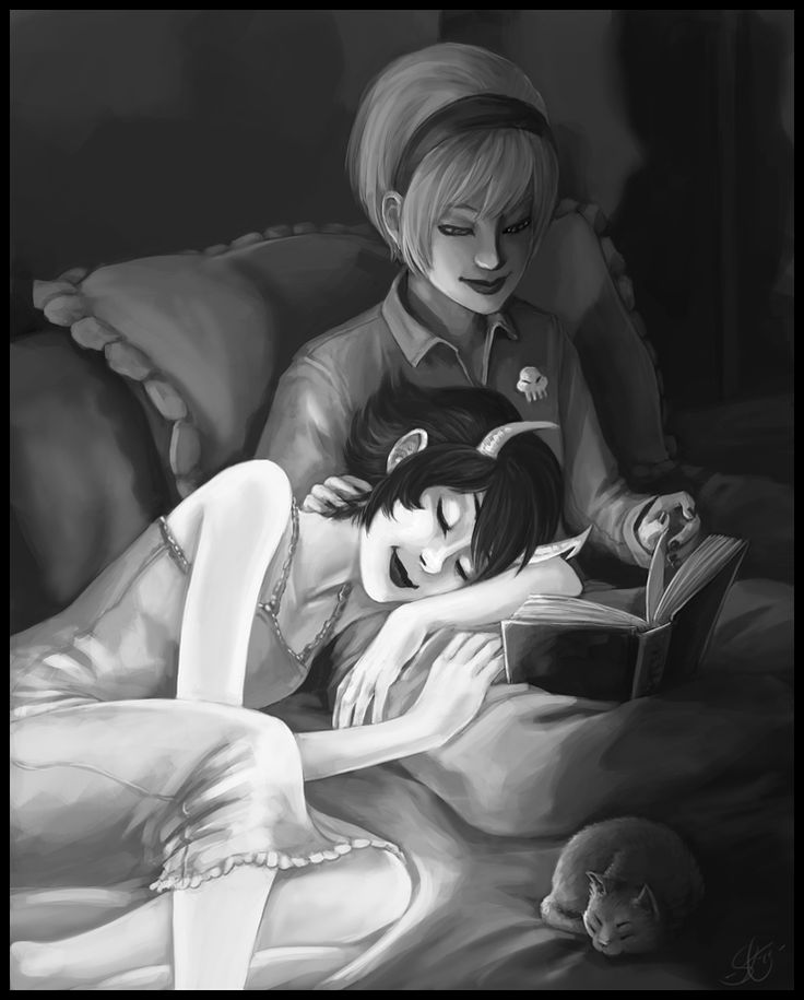 Rose and Kanaya. <3 #Homestuck