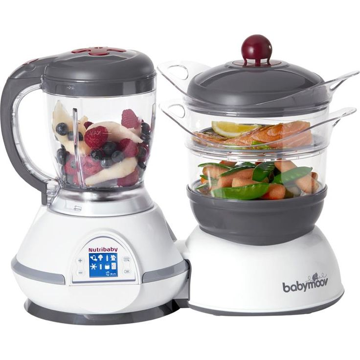 Nutribaby Cherry - Babymoov - robot cuisieur mixer