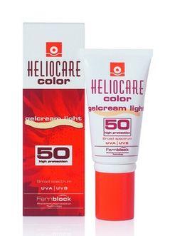 Heliocare Color SPF 50 Gelcream Light 50ml | 63,75 TL | Dermoeczanem de. Cildi güneş ışınlarının zararlarından koruyan özel bronzlaştırıcı yağsız jel kremi. #helıocare #bronz #suncare #beauty #ciltbakım