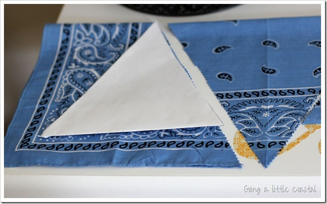 how to make a banner pennant