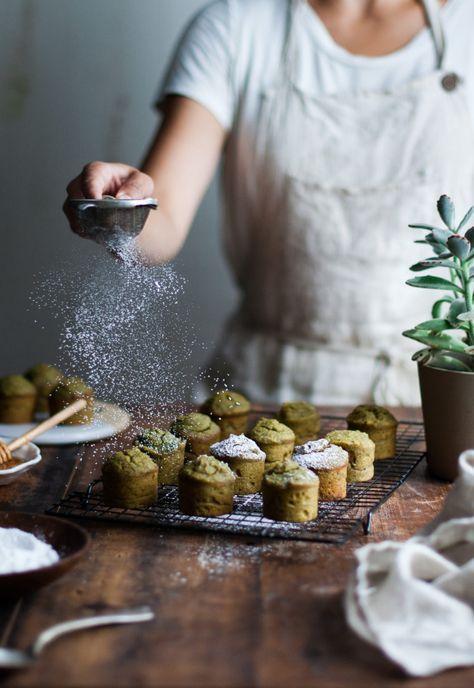 Pistachio & Lemon Marzipan Tea Cakes