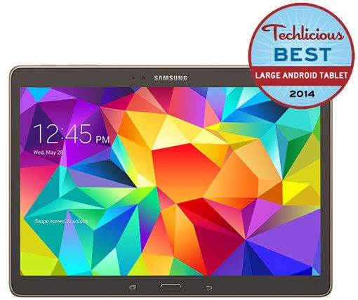 The Best Large Android Tablet - Samsung Galaxy Tab S