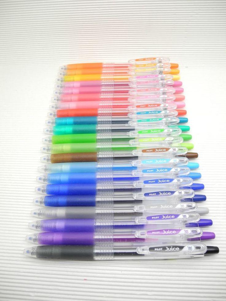 21 Colors NEW Pilot retractable Juice 0.38mm gel ink/ball point pen (Japan) #pilot