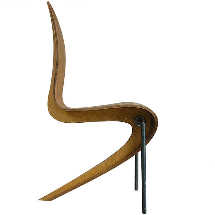 Prototype Plywood Spine Side Chair