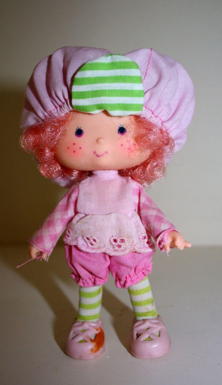 Doll uk strawberry shortcake vintage
