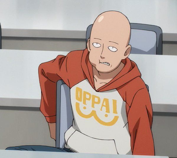 The iconic Oppai hoodie worn by the master himself. Show your love for One Punch Man by wearing this awesome Oppai hoodie.