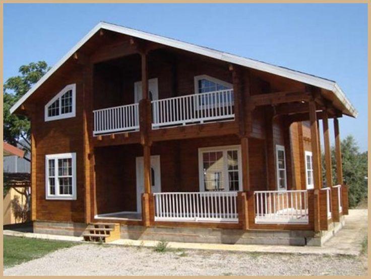Mejores 94 imágenes de Casas de madera en Pinterest | Casas de ...