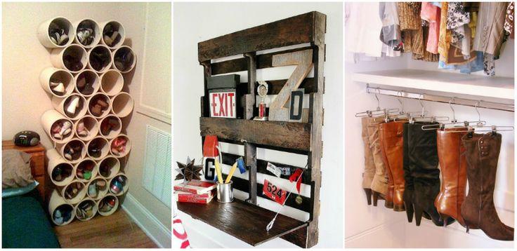 Organizare eficienta in orice camera din casa ta cu aceste idei Te-ai gandit vreodata cum poti face sa depozitezi mai eficient si mai rapid? Ei bine, te ajutam cu o multime de proiecte utile: http://ideipentrucasa.ro/organizare-eficienta-orice-camera-din-casa-ta-cu-aceste-idei/