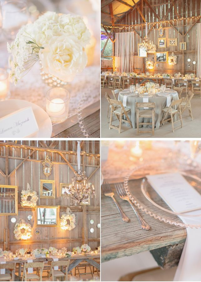 446 best rustic romantic wedding ideas images on pinterest home beautiful rustic barn wedding decor using mirrors junglespirit Gallery
