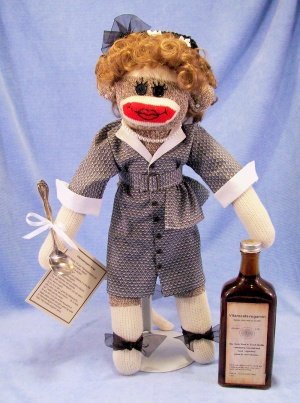 I Love Lucy Sock Monkey