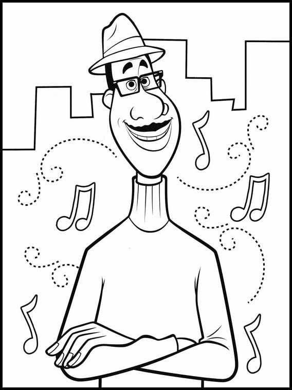Soul 14 Printable Coloring Pages For Kids In 2021 Online Coloring Pages Valentines Day Coloring Page Coloring Pages